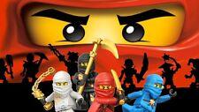LEGO NINJAGO IRON ON T SHIRT TRANSFERS
