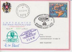 Zeppelin - Luftschiff -  Österreich  1992