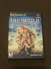 Sony PlayStation PS2 Final Fantasy XII Video Game Rated T FFXII