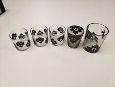 Partylite Retired Forbidden fruits glasses - assorted sizes, votives
