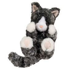 Douglas Cuddle Toys Black and White Kitten Lil' Handful 6""