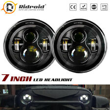 "Dot 7"" Round Sealed LED Headlights For Dodge B100 B200 B300 Van 1971-1974 Pickup"