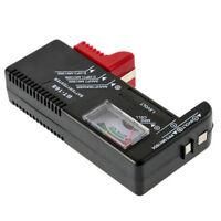 AA AAA C D 9V 1.5V Pile Bouton Cellule Compteur Volt Testeur Niveau