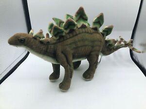 Hansa Portraits Of Nature Dinosaur Stegosaurus Plush Soft Stuffed Toy Animal