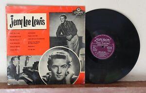 jerry lee lewis -  london records HA-S2138 (UK) 1958    RARE