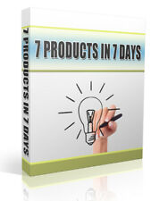 How to Create 7 Products In 7 Days + Ebook PDF + Resell Rights