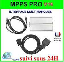 PROMO Interface MPPS métal box V3.0 PROFESSIONNEL- Valise SCANNER + MPPS V16
