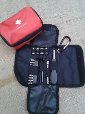 Tool Bag Custodia + Primo Soccorso Kit per BMW R 1200 GS LC ADVENTURE tutti Bauj.