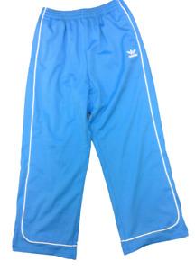 Mens Adidas Vintage 2003 Track Pant Powder Blue White Sweat Pants