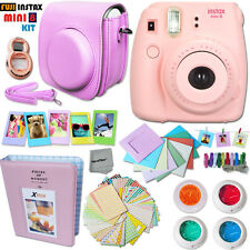 FujiFilm Instax Mini 8 Camera PINK + +Case +Album +Frames +MORE