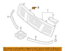 NISSAN OEM 87-88 Sentra-Grille Clip 6231801W00