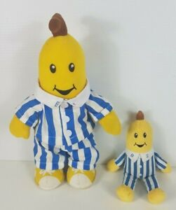 ABC Bananas in Pyjamas B1 33cm 1997 and B2 19cm 2017 Plush