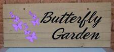 Garden Custom Made Decorative Plaques & Signs