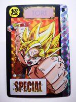 Carte Dragon Ball Z  Premium Edition Special Goku Kamehameha