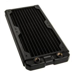 Black Ice Nemesis GTS 240 High Performance Copper Radiator - Black Carbon