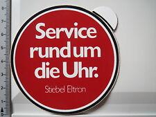 Aufkleber Sticker Stiebel Eltron 80er Autocollant Service (3873)