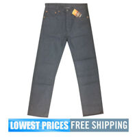 Levi's Men's NWT 501 Original Fit Straight Leg Jeans in Gray W/ Free Shipping