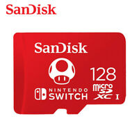 SanDisk 128GB microSDXC for Nintendo Switch Card UHS-I U3 100MB/s with Tracking