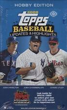 2008 Topps Baseball Updates and Highlights Sealed Hobby Box Kershaw SCHERZER