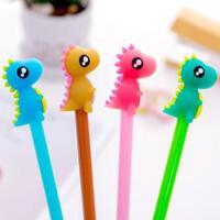 Cartoon Little Monster Design Gel Pen Kawaii Cute Pen Kids School Supplies-s