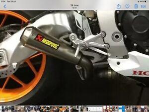 Honda  Cbr1000rr Fireblade Akrapovic Exhaust