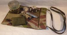 Musette camouflée fabrication locale avec accessoires armée française Indochine