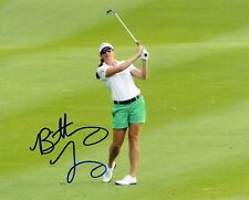 BRITTANY LANG signed LPGA 8x10  photo U.S OPEN Champion