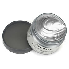 2x Professional Silver Grey Hair Wax Pomades Natural Hairstyle Styling Cream UK