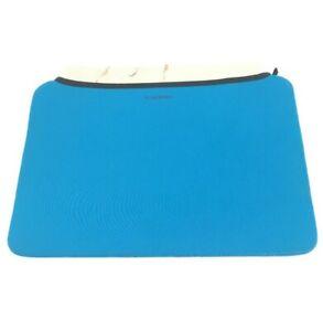 """VanGoddy Slim Neoprene Laptop Sleeve Case Cover Bag For 17"""" Laptop Blue"""