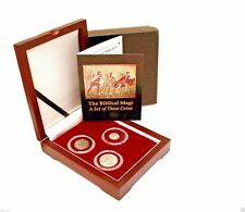 The Biblical Magi 3 Coin set of 2 Silver 1 Bronze Coins,With Box,Certificate