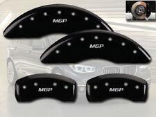 "2012-2016 BMW ActiveHybrid 5 Front + Rear Black ""MGP"" Brake Disc Caliper Covers"