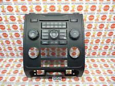 08 2008 FORD ESCAPE AM/FM RADIO MP3 CD PLAYER FACE PLATE 8L8T-18A802-AKW OEM