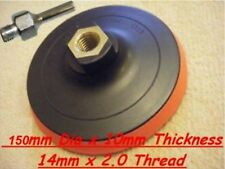 """Velcro Backing Pad 150mm For 4 1/2"""" & 125mm  Angle Grinders with MANDREL"""