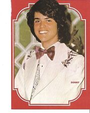 The OSMONDS 'Donny in a bow tie'  magazine PHOTO / Pin Up /Poster 11x8 inches