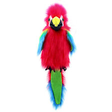 The Puppet Company - Large Birds - Amazon Macaw Puppet