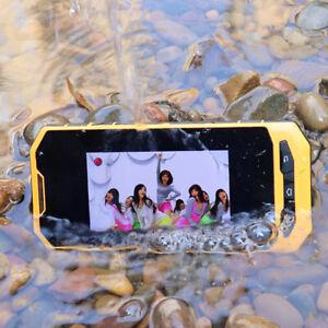 Android 7.1 IP68 waterproof Rugged GSM 3G WCDMA unlocked shockproof smartphone