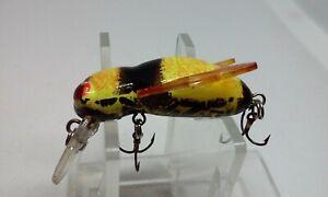 "Rebel Bumble Bug Bumble Bee 1 3/8"" Bumblebee Ultralight Dive Crankbait Fish Lure"