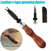 DIY Leather Craft Edge Skiving Beveling Beveler Cutting Working Hand Craft Tools