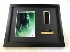 """THE MATRIX REVOLUTIONS LTD EDITION 10"""" X 8"""" GENUINE 35MM FILM CELL with C.O.A."""