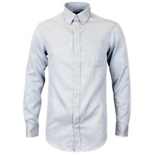 """Emporio ARMANI Grey Modern Fit Shirt 15"""" Collar With Tags*"""