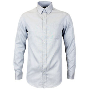 """Emporio Armani Grey Modern Fit Shirt 15.5"""" Collar *NEW WITH TAGS* RRP £125"""