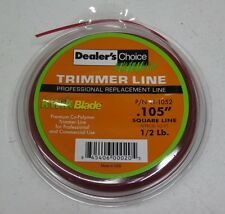 """1/2 lb pound .105"""" STRING TRIMMER LINE Square Professional / Commercial Use"""