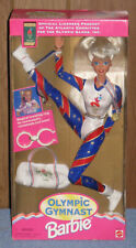 Barbie Olympic Gymnast Doll 1995 Box In Tattered Shape