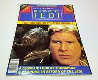 Star Wars Return Of The Jedi Magazine Double Posters Issue HANS SOLO and RANCOR