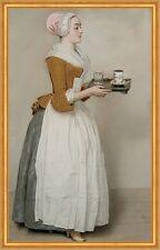 Das Schokoladenmädchen Jean-Etienne Liotard Dienstmädchen Kakao B A2 02515