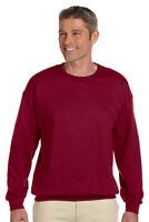GILDAN Mens Size S-5XL Pullover Heavy Blend Crewneck Sweatshirt Jumper g18000