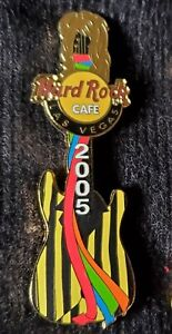 HARD ROCK CAFE LAS VEGAS STEVEN TYLER GUITAR PIN