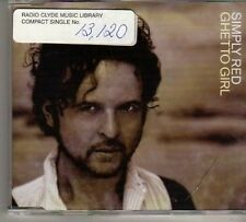 (BO328) Simply Red, Ghetto Girl - 1998 DJ CD
