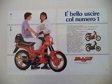 advertising Pubblicità 1987 MALAGUTI FIFTY TOP 50