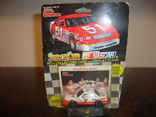 Alan Kulwicki---1:64 Scale Diecast---With Hooters Girls Card---Inscribed On Back